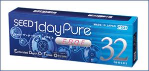 シード1dayPure EDOF遠近両用1日使い捨てコンタクトレンズ